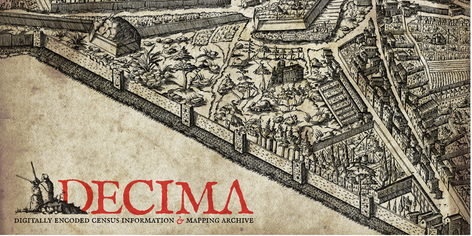 Explore 16th-century Florence: DECIMA: The Digitally Encoded Census Information and Mapping Archive