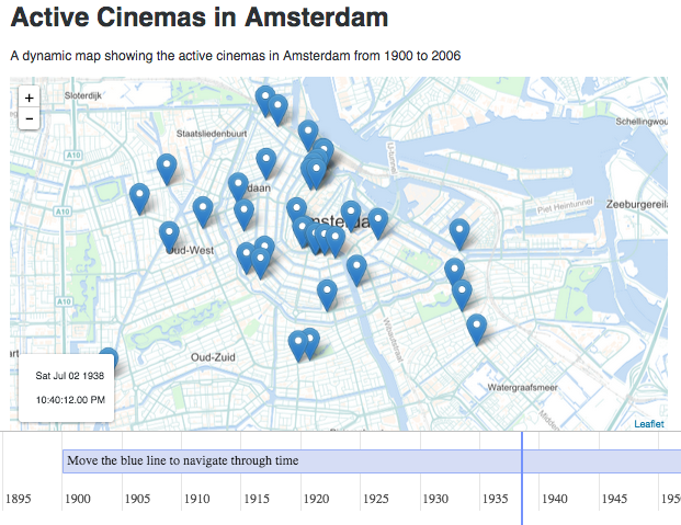 How to: make a dynamic map of Amsterdam