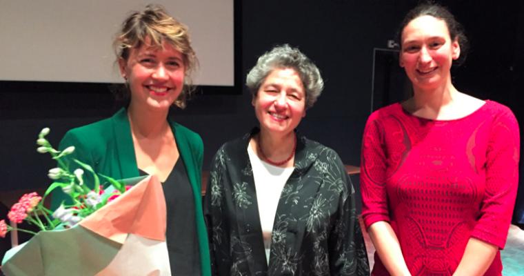 Mascha van Nieuwkerk wins Hélène Nolthenius Prize!